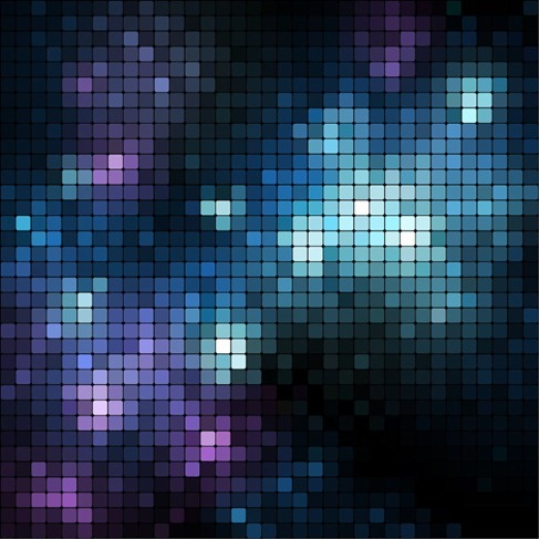 Abstract Vector Graphic Mosaic Background