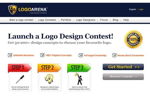 Logo Design Contests  Homepage
