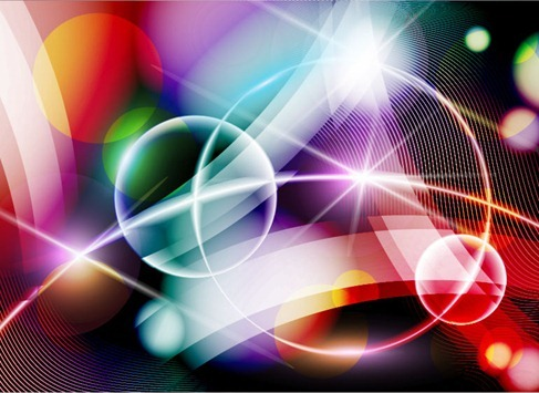 Abstract Colorful Design Background Vector Illustration