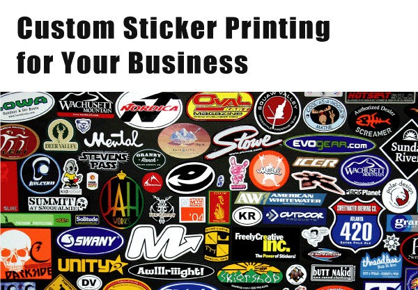 Custom Sticker Logo Printing