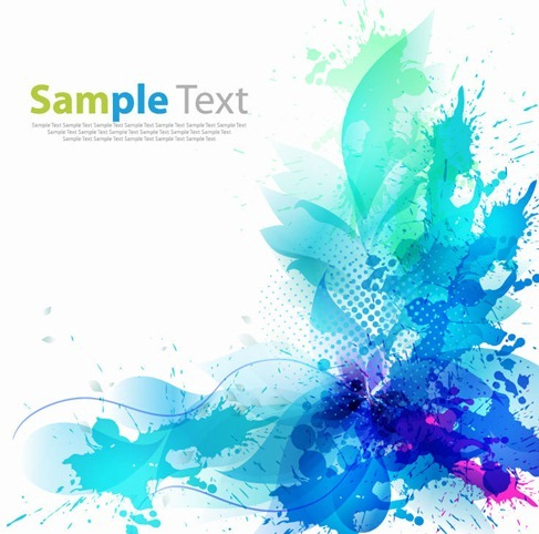Abstract Artistic Background Vector Graphic