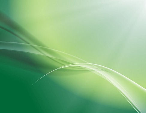 Soft Green Abstract Background Vector
