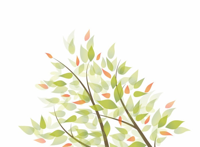 Green Leaves Vector Graphic Background  Free Vector Graphics  All