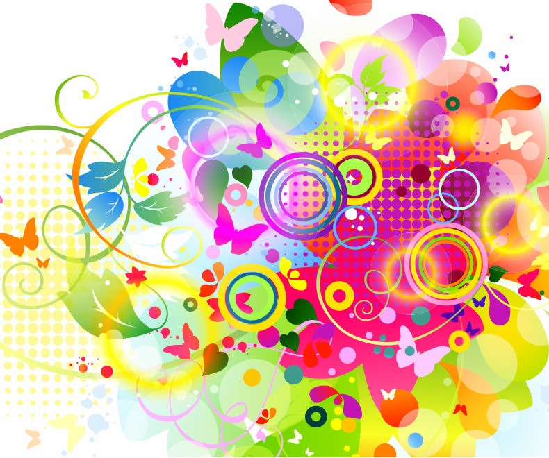 Abstract Design Vector Graphic Background Free Graphics All