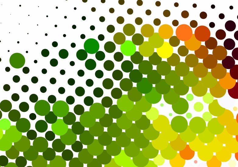 Colorful Dots Background Vector Graphic  Free Vector Graphics  All