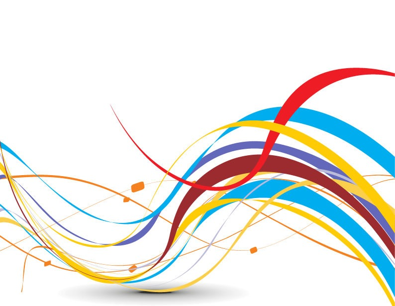 Abstract Colorful Background With Wave Vector Illustration Free Vector Graphics All Free Web