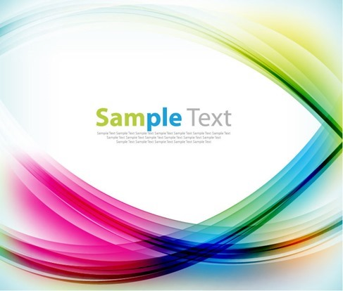 Abstract Colorful Motion Graphic Background