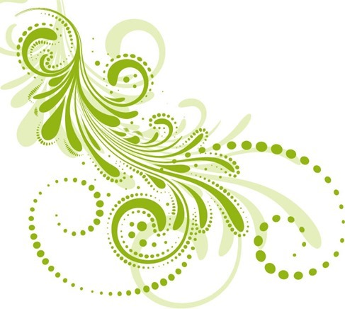 Beautiful Floral Pattern with Background Vector Illustration