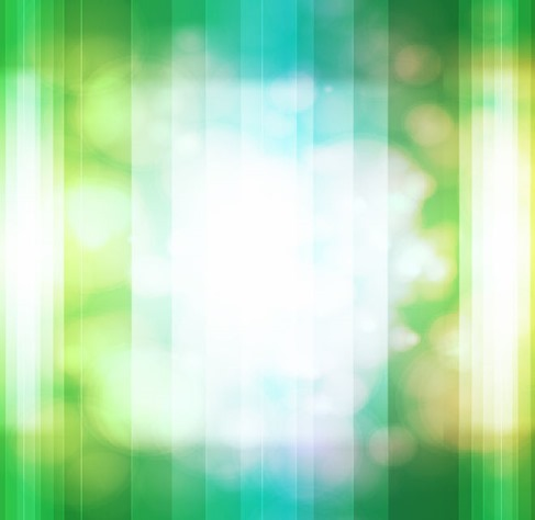 Bokeh Design  Green Vector Background