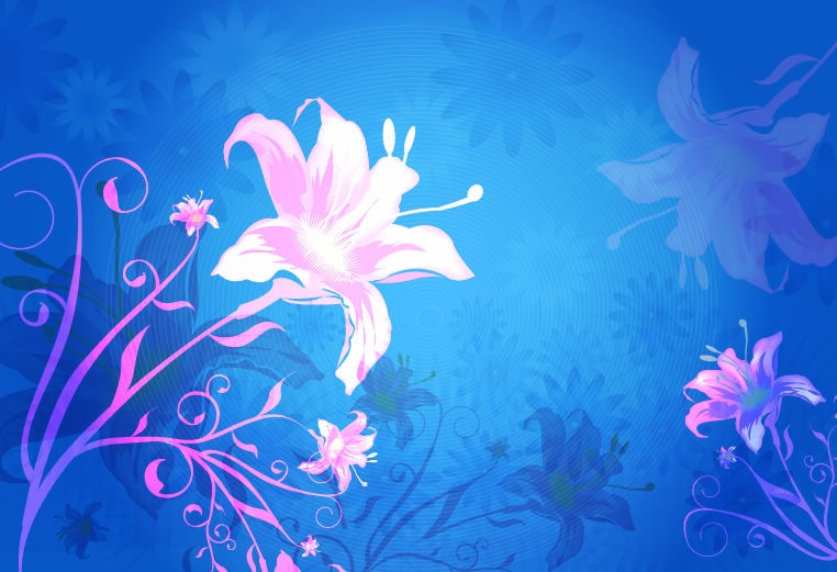 Flower Vector Background Graphic  Free Vector Graphics  All Free Web