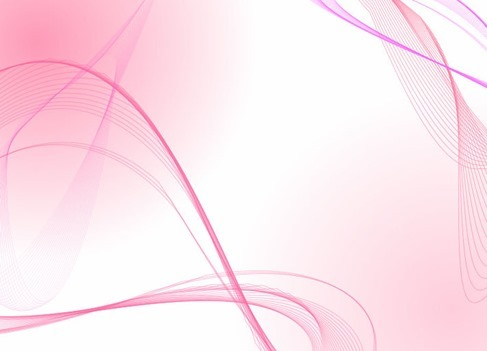 Light Pink Wave Lines Vector Background