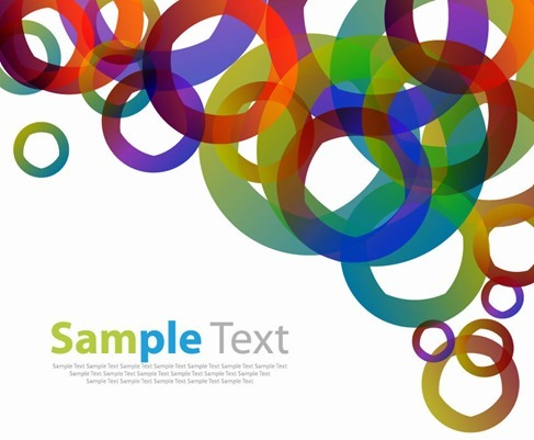 Abstract Design Elements Vector Background