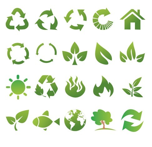 Eco and Bio Vector Set