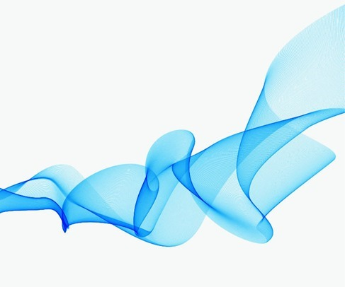 Abstract Design Background Blue Wave Vector Graphic