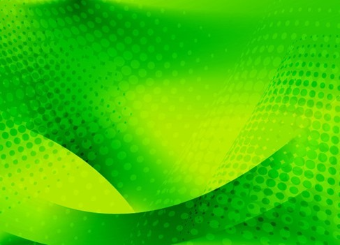 Abstract Green Background Editable Vector