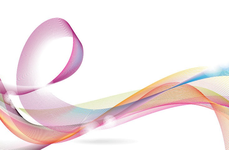 Designed Colorful Abstract Wave Background Vector Graphic  Free