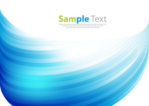 Vector of Abstract Blue Design Graphic