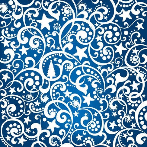 Abstract Graphic Christmas Background Vector Illustration