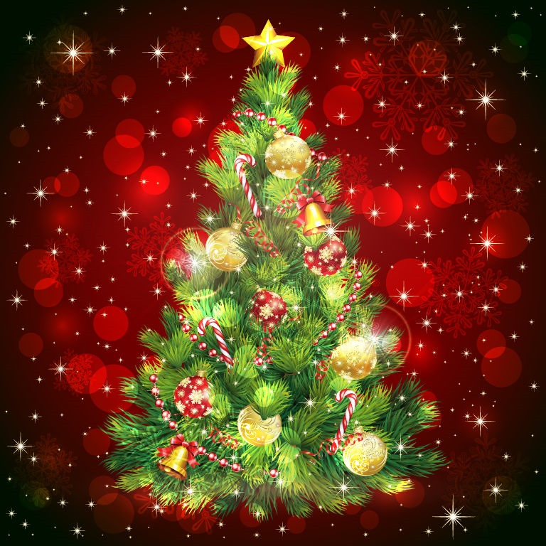 Christmas Tree Vector Image | Free Vector Graphics | All ...