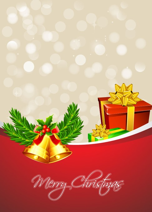 Christmas Background Design Vector Graphic