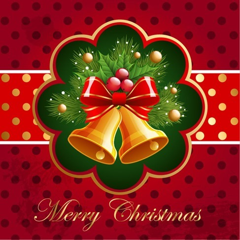 Christmas Background Vector Art