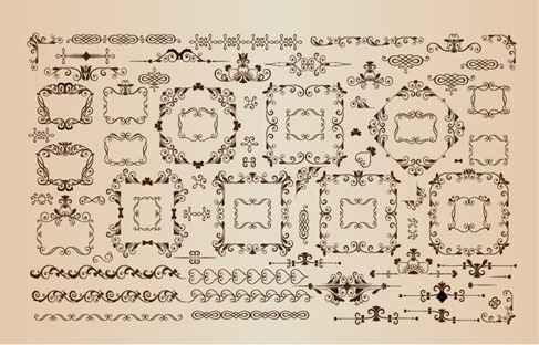 Vector Collection Decorative Design Elements