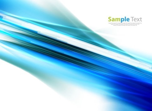 Abstract Blue Motion Background Vector Illustration