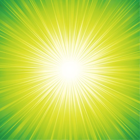 Abstract Sun Background Vector Illustration