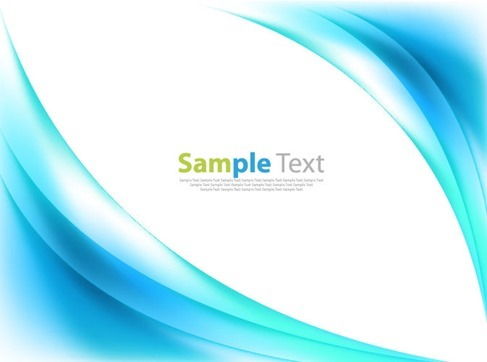 Blue Color Abstract Background Vector Illustration