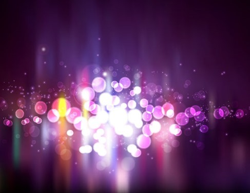 Blurry Light Purple Abstract Background Vector Illustration