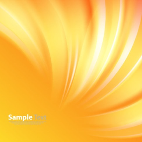 Sunshine Light Abstract Background Vector Illustration