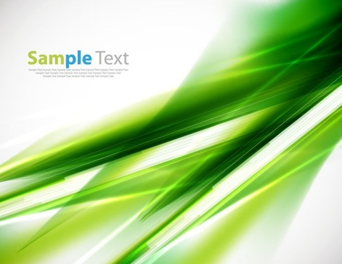 Abstract Green Background Vector Illustration 2
