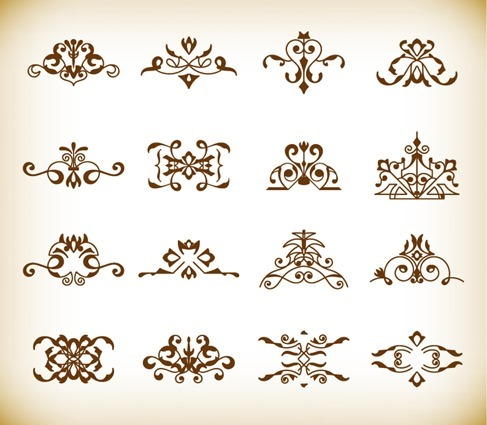 Decorative Design Elements Vector Set