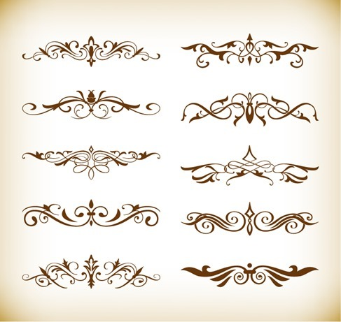 Decorative Elements Vector Set for Your Design