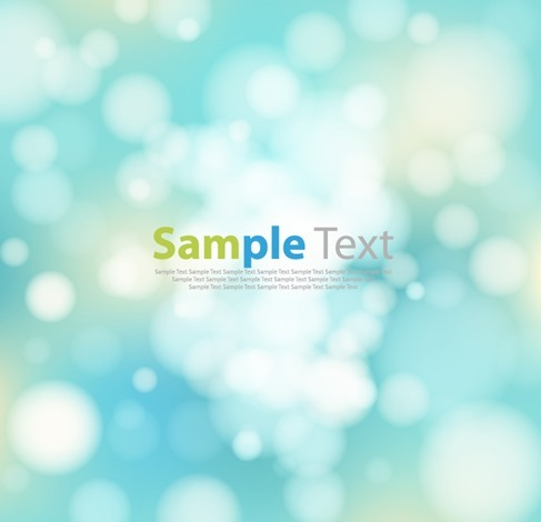Abstract Background with Bokeh Lights Vector Background