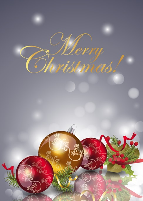 Christmas New Year Background Illustration