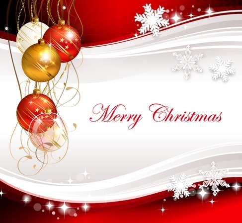 Vector Illustration for Merry Christmas Celebration