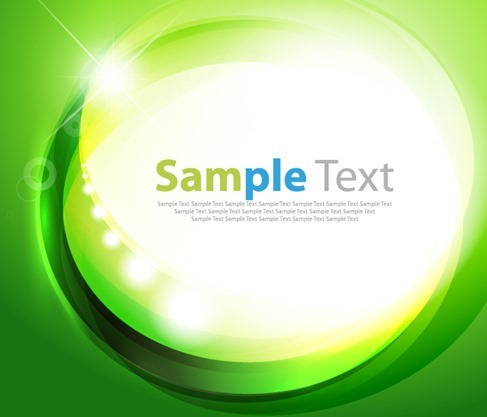 Abstract Background Green Vector Illustration