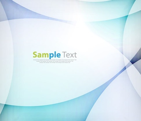 Abstract Light Wave Design Background Vector Illustration