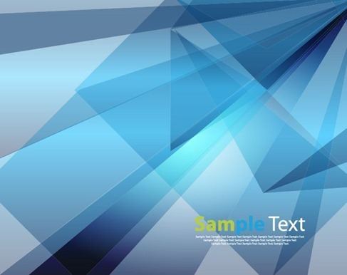 Blue Abstract Design Background Illustration Vector