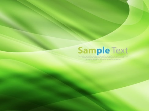 Green Design Abstract Background Illustration Vector