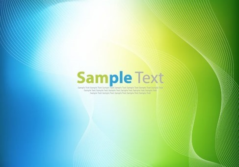 Green and Blue Design Abstract Background Vector Illustration