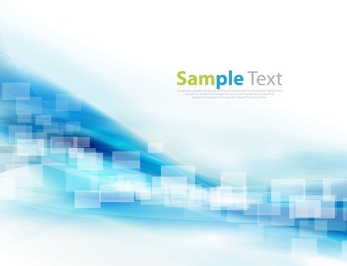 Vector Illustration of Abstract Design Blue Background