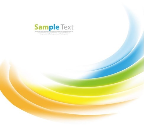 Abstract Smooth Design Background Vector Illustration