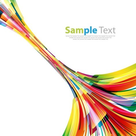 Colorful Design Abstract Vector Illustration