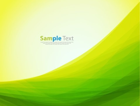 Abstract Green Yellow Color Background Vector Illustration