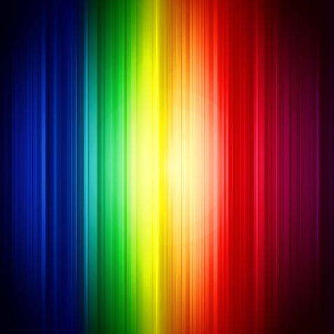 Abstract Rainbow Colorful Vertical Striped Vector Background