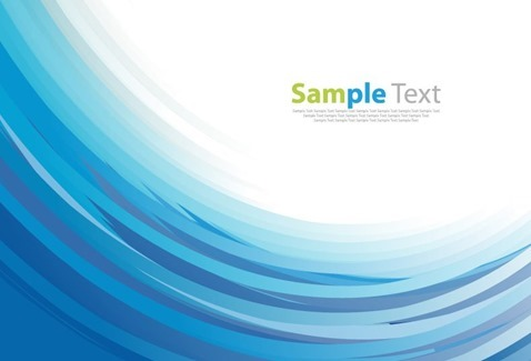 Vector Awesome Abstract Design Blue Background