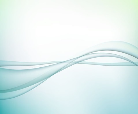 Vector Illustration of Abstract Waves Design Background