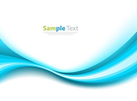 Abstract Blue Abstract Design Background Vector Illustration